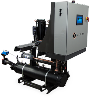 High Efficiency Central Chiller by Sterling
