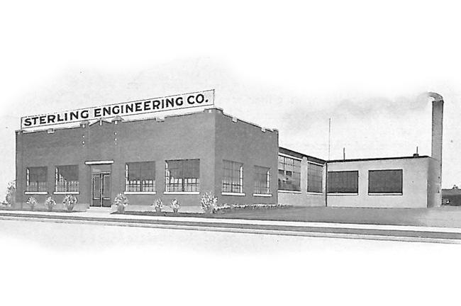 1916 - Sterling Engineering Established